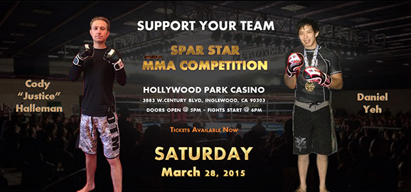 MMA Competition – 03/28/2015